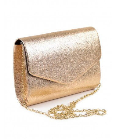Pochete Ouro Rosa de Senhora Tipo Envelope