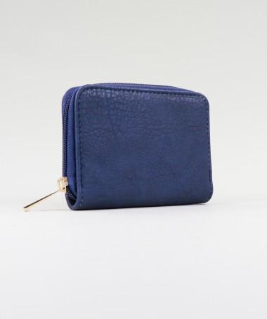 Carteira Pequena Azul de Senhora