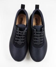 Sapato de Homem Todo em Pele Casual Fabricado em Portugal