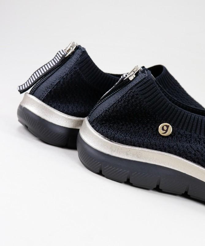 Sapatos de Senhora Ginova com Fecho Atrás