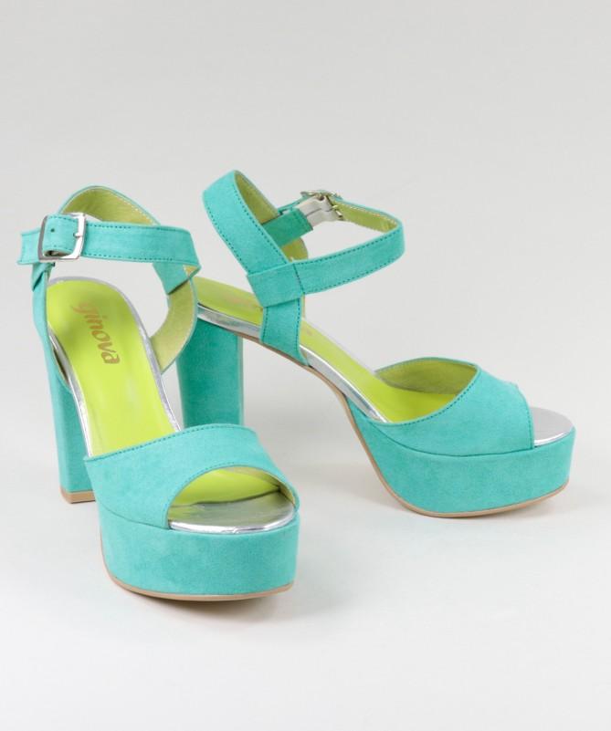 Sandálias de Mulher Ginova Compensadas