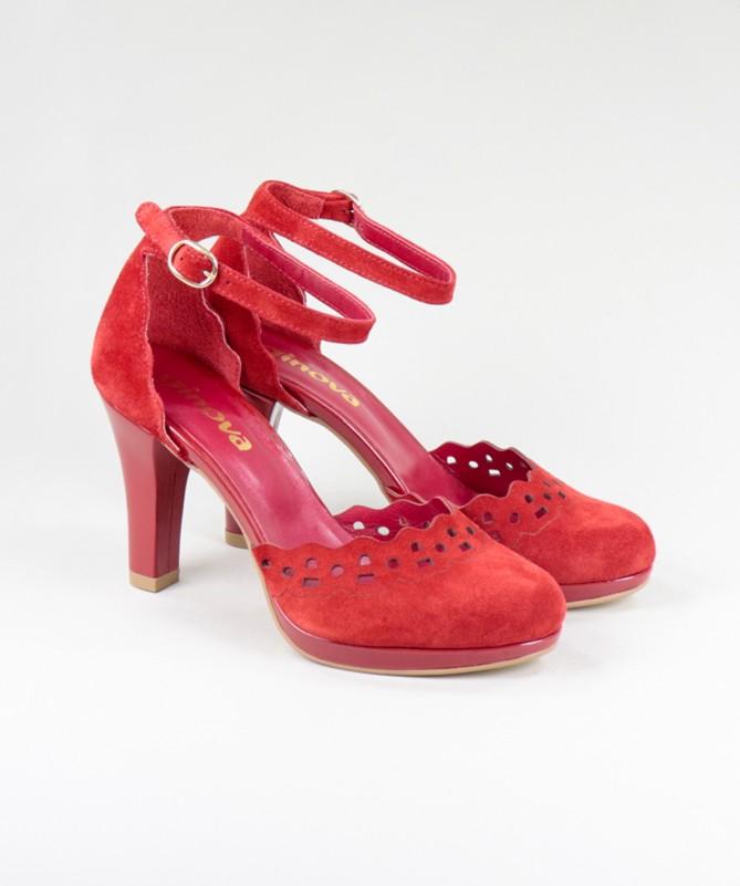 Sandálias de Senhora Ginova Fechadas Atrás