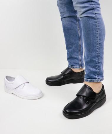 Sapatos Ortopédicos de Homem Ginova com Velcro