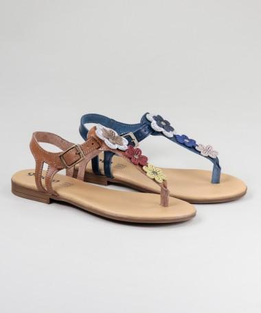Sandálias de Senhora com Flores