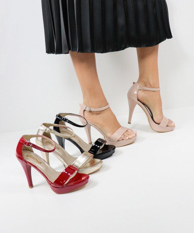 Sandálias Elegantes de Senhora Ginova