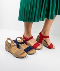 Sandálias de Senhora Ginova com Tira de Apertar