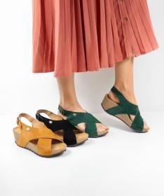 Sandálias Ginova de Cunha com Palmilha Anatómica