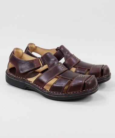 Sandálias de Homem em Pele