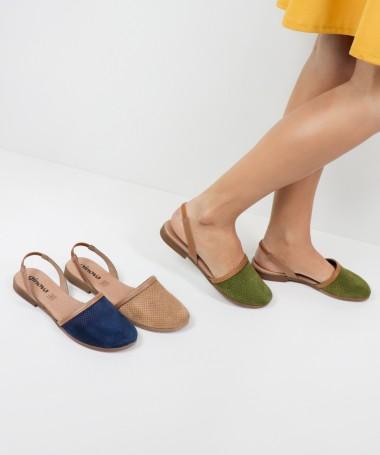 Sandálias de Senhora Ginova Perfurada