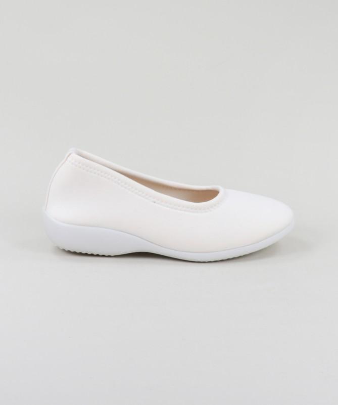 Sapatos Brancos Ortopédicos Elásticos Ginova