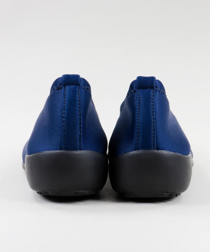 Sapatos Azuis Ortopédicos Elásticos Ginova