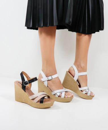 Sandálias de Senhora Ginova com Tiras