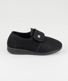 Sapatos com Tira em Velcro de Senhora Ginova