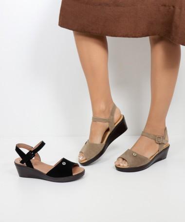 Sandálias de Senhora Ginova com Tira Ajustável