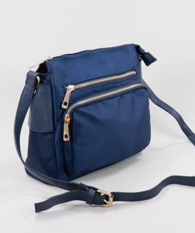 Mala Azul em Nylon com...
