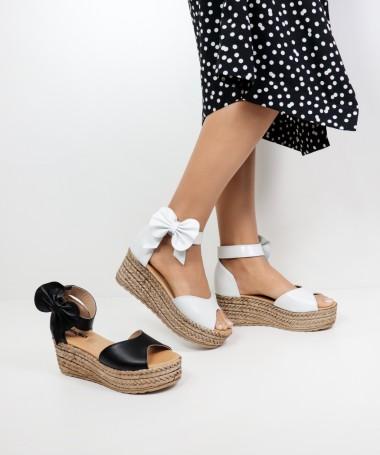 Sandálias de Senhora Ginova com Velcro