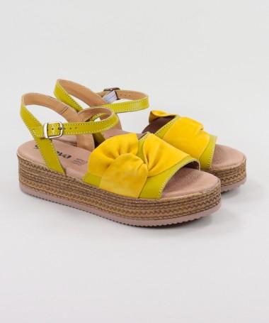 Sandálias de Senhora Ginova com Laço