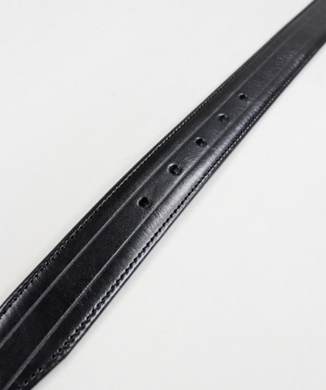 Cinto de Homem Preto em Pele Velen Belts