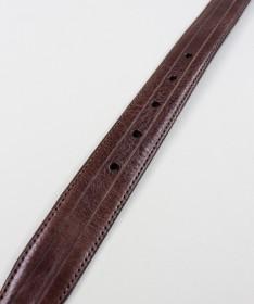 Cinto de Homem Castanho em Pele Velen Belts