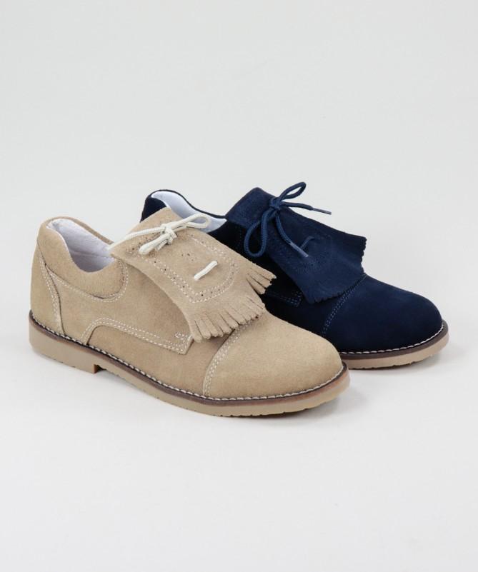 Sapatos em Pele de Carneira Ginova