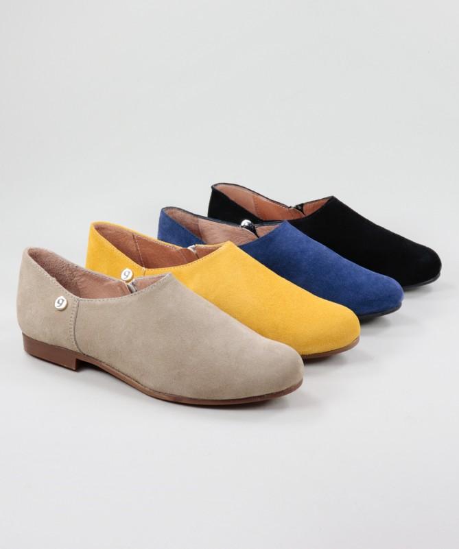 Sapatos Rasos Ginova de Fecho