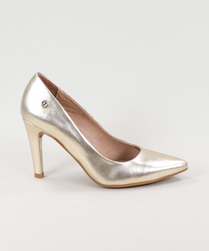 Stilettos de Senhora Ginova Metalizados