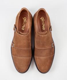 Sapatos de Homem Ginova com Fivelas