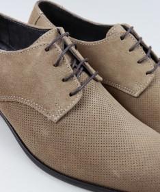 Sapatos de Homem Ginova com Sola de Borracha
