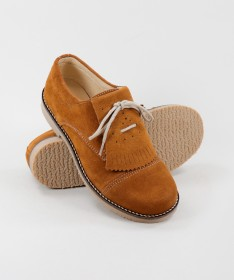 Sapatos de Carneira Ginova de Atacadores