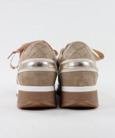 Sapatilhas de Mulher Ginova com Várias Texturas