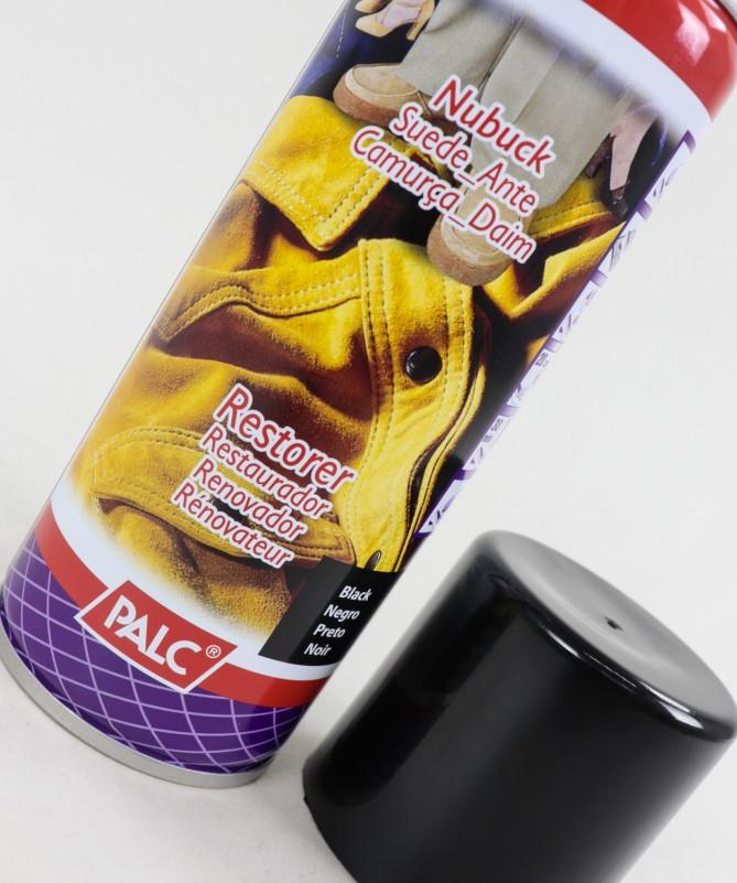 Spray Restaurador Preto para Camurças