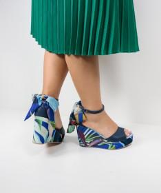 Sandálias de Senhora Ginova Floridas
