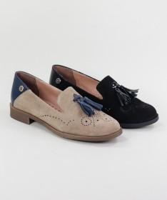 Sapatos Rasos de Senhora Ginova com Berloque
