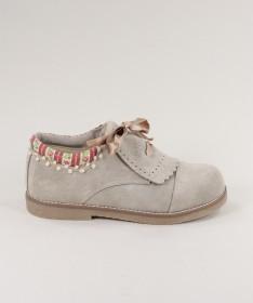 Sapatos Pele de Carneira de Senhora Ginova