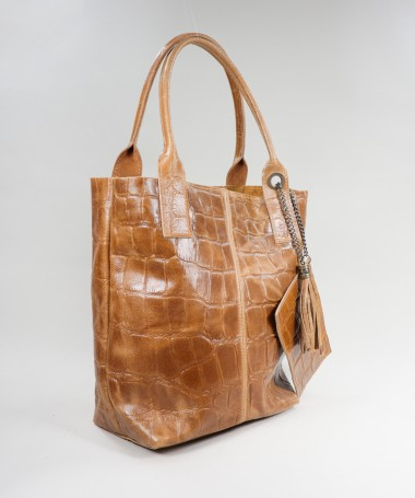 Mala Camel de Senhora com Bolsa