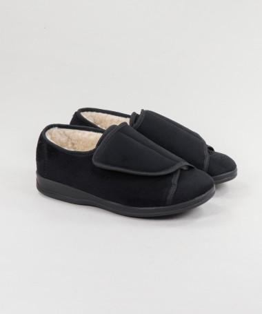 Pantufas Ginova de Pelo com Velcro