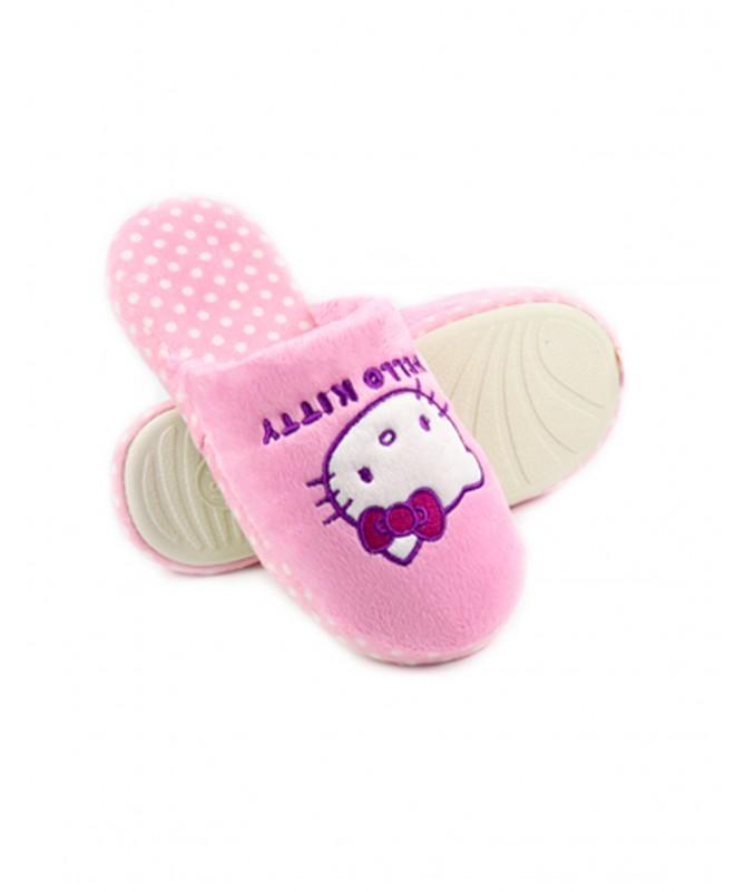 Chinelos de Quarto de Senhora Hello Kitty Fuxia