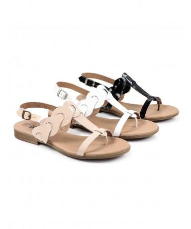 Sandálias Rasas de Senhora...