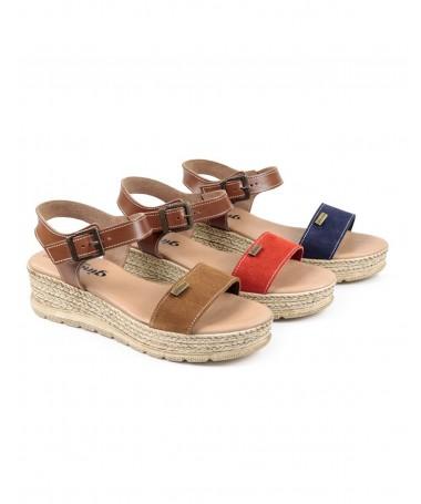 Sandálias de Mulher Ginova de Plataforma