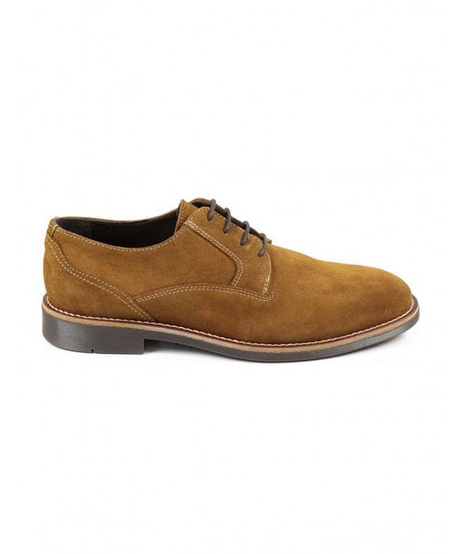 Sapatos de Homem Casual Camel Ginova