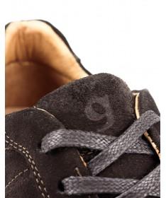 Sapatilhas de Homem em Castanho com Sola de Borracha Ginova