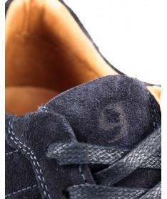 Sapatilhas de Homem em Azul com Sola de Borracha Ginova