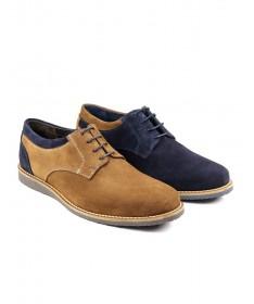 Sapatos de Homem Casual de Duas Tonalidades Ginova