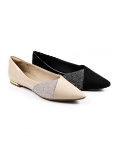 Sapatos de Senhora Ortopédico Baixo com Glitter Piccadilly