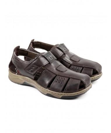 Sandálias de Homem Pegada Castanhas