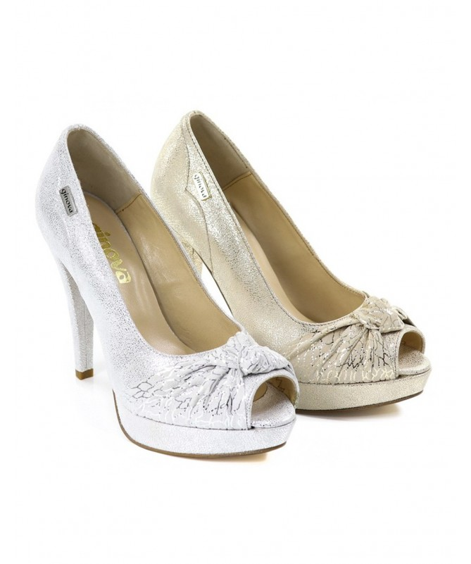 Sapato de Senhora Elegante com Nó Ginova