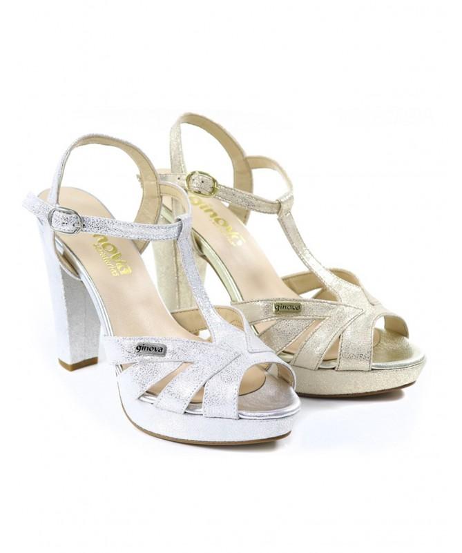 Sandálias de Senhora Elegantes Ginova