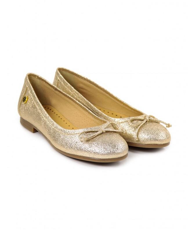 Sabrinas de Senhora Ginova Douradas Metalizadas
