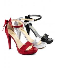 Sandálias de Mulher Elegantes com Laço Ginova