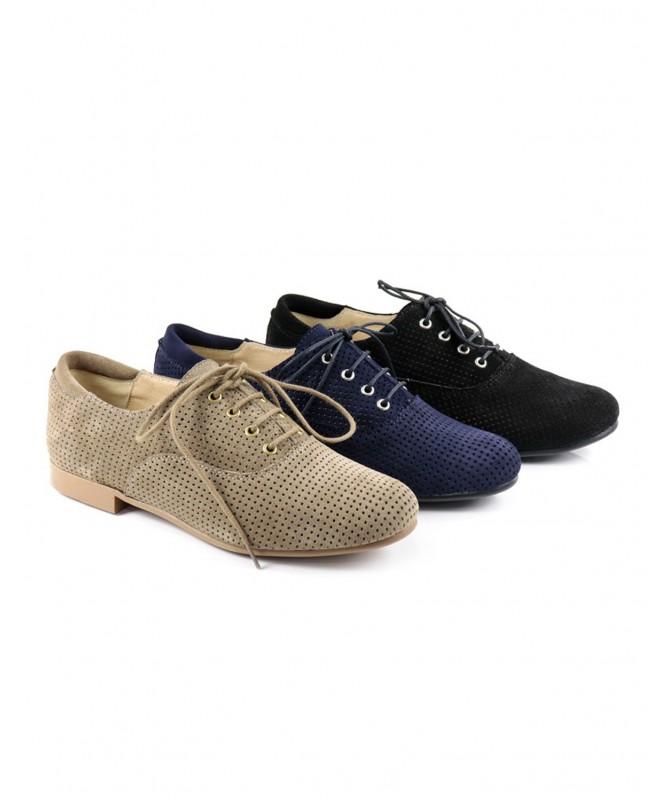 Sapatos de Senhora Ginova com Atacadores